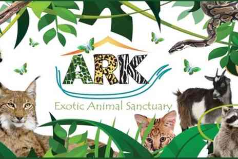 Ark Wildlife Park - Park Entry for a Family of 4 - Save 20%