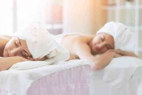 Q Wellness - One hour bespoke massage pamper package for two with a glass of bubbly each - Save 65%