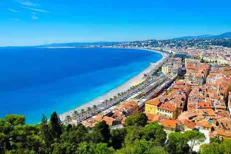 Hotel Beau Rivage - Four Star Contemporary Cote d Azur Retreat in the Heart of Old Town for two - Save 80%