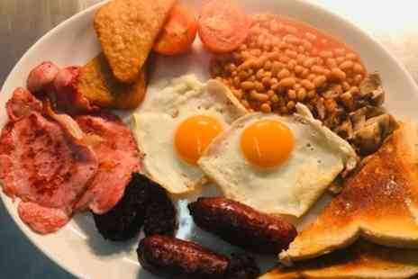 The Rinky Dink Cafe - Full English Breakfast with Tea or Coffee for Two or Four - Save 45%