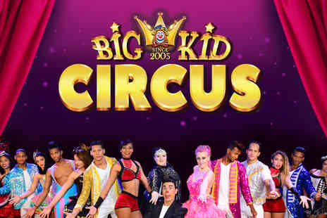 Big Kid Circus - Enjoy one or two tickets from 3rd To 19th April - Save 47%