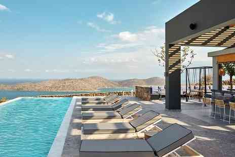 Elounda Blu - Four Star Stylish Adults Only Getaway on Stunning Coastline for two - Save 0%