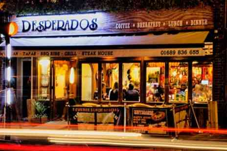 Desperados Restaurant - Two Course Mexican Meal With Glass of Sangria Each For Two or Four - Save 53%