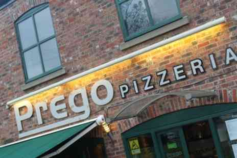 Prego Pizzeria - Italian Meal and Wine for Two or Four - Save 49%