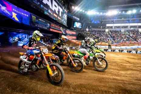 Arenacross Tour - LIVE Motorcross show in The SSE Wembley Arena Friday 21st and Saturday 22nd February - Save 63%