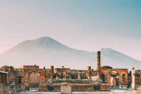 Great Pacific Travels - Two nights Naples, Italy city break with Pompeii entrance ticket and flights - Save 56%