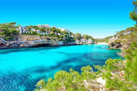 Super Escapes Travel - Two nights all inclusive Mallorca, Spain break with return flights - Save 57%