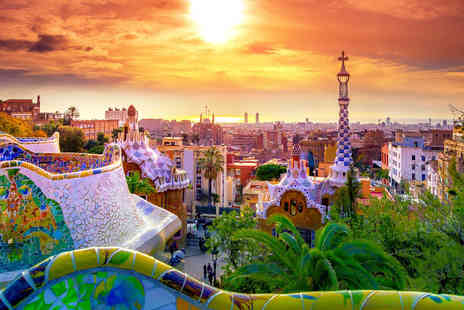 Bargain Late Holidays - Escape with a two, three or four nights getaway to Barcelona, Spain Now with the ability to choose your flights - Save 0%