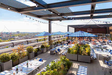 Skylark Roof Garden - Four cocktails and a sharing platter for two - Save 51%