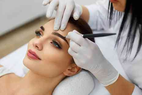 Semi Permanent Makeup In London - Semi permanent eyebrow microblading treatment - Save 62%