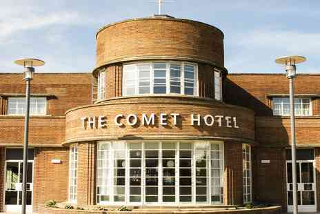 The Comet Hotel - Grade II listed Hertfordshire hotel stay including meals - Save 0%