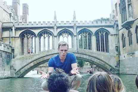Cambridge Alumni Tours - 50 Minute Student Guided Punting Tour - Save 0%