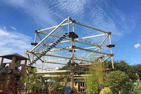 Sky Trail Adventure - Sky Trail high ropes experience for two people - Save 50%