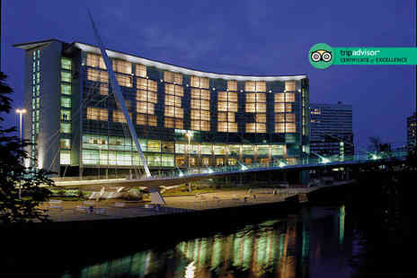 The Lowry Hotel - Luxury 60 minute spa treatment with a glass of Prosecco or 60 minutes of treatment and Prosecco - Save 30%