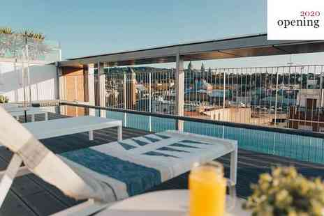 Hotel Ona Terra - Three Star Stylish Hotel with Roof Terrace near Montjuïc Park for two - Save 70%
