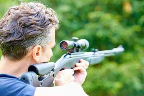 Rifleman Firearms - One hour have a go air rifle session with unlimited pellets for two people - Save 50%