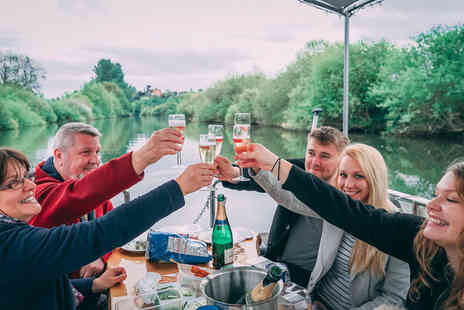 Sabrina Boat Tours - Two hour hire of a picnic boat for up to 10 people on the River Severn - Save 34%
