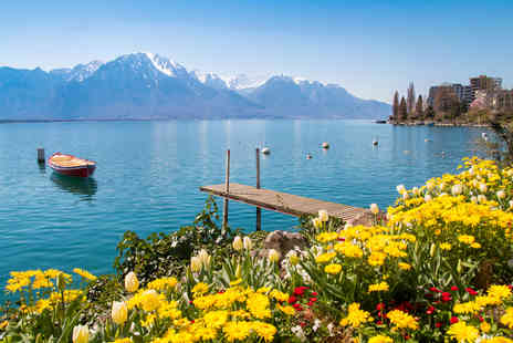 Via Holiday - Two nights Lake Geneva, Switzerland break with return flights - Save 31%