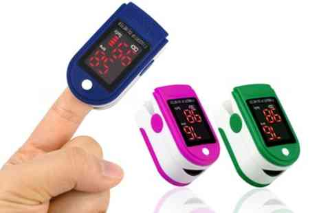 Groupon Goods Global GmbH - Finger Pulse Oximeter - Save 0%