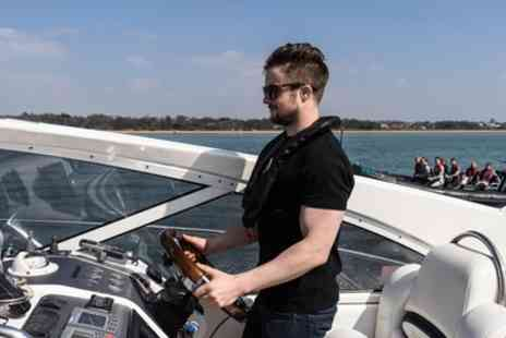 Seadogz - Isle of Wight Motorboat Cruise or Motor Cruiser Driving Experience - Save 48%