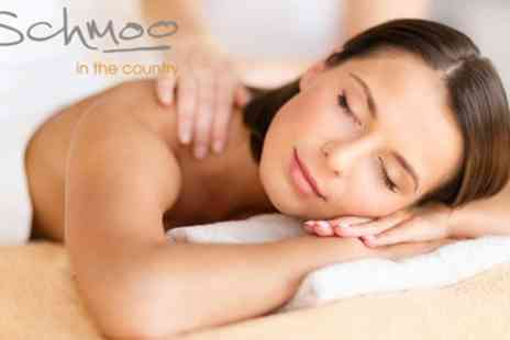 Schmoo in the Country at Hilton Puckrup Hall - Three Treatment Pamper Package - Save 57%