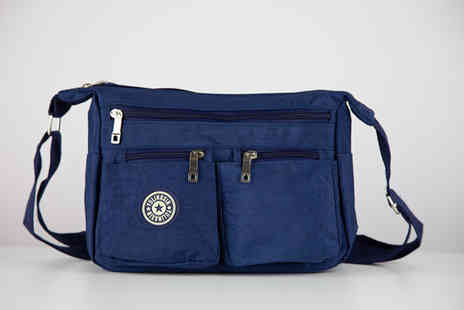 Direct Sourcing Project - Lightweight Cascabelle waterproof Dacron bag choose between black, navy, pink or purple - Save 55%