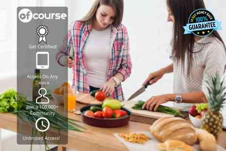 OfCourse - Online vegan and vegetarian cooking bundle - Save 89%