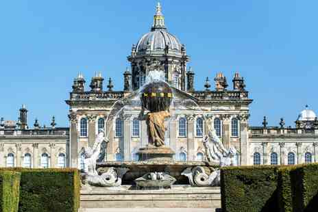 Castle Howard Estate - Entry to Castle Howard house and gardens for one adult or concession - Save 32%
