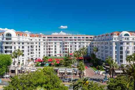 Hotel Barriere Le Majestic Cannes - Five Star Luxury Collection Historic Establishment on La Croisette for two - Save 41%