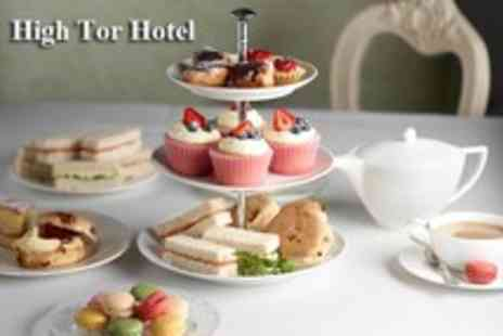High Tor Hotel - Afternoon tea for 2 people including sandwiches, scones, homemade cake & tea - Save 51%