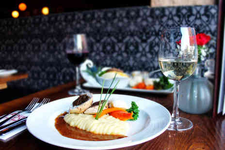 Ingram Wynd - Three course dining for two people - Save 0%