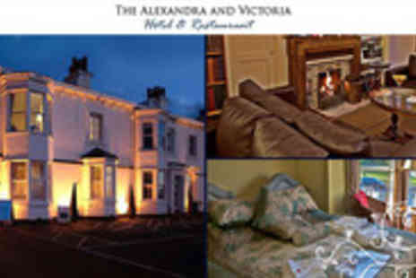The Alexandra and Victoria - One night B&B stay at The Alexandra and Victoria Hotel in Southport. Enjoy spectacular views across - Save 60%