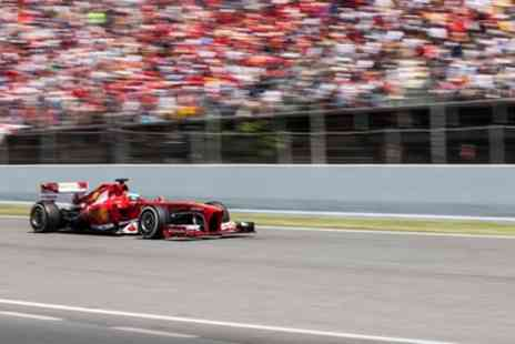 Spanish F1 GP with Half Board - Four Star Up to 7 Nights at L Azure Hotel with Breakfast, Dinner and F1 Race Tickets - Save 0%