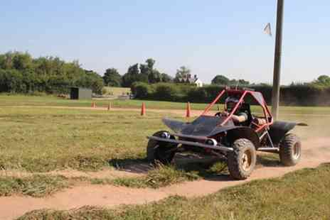 Heart of England Events - Rage Kart Off Road Trekking and Optional Air Rifle Experience - Save 68%