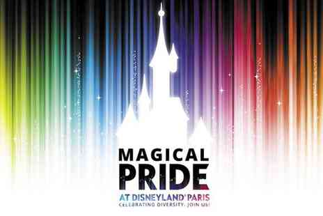 Just Coach Travel - Luxury coach return day trip to Disneyland Paris Magical Pride event on the 6th June 2020 - Save 25%