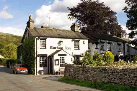 The Barbon Inn - 17th Century inn stay with dinner - Save 50%