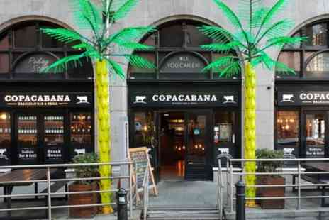 Copacabana Bar and Restaurant - Brazilian Lunch with Wine for One, Two or Four - Save 34%