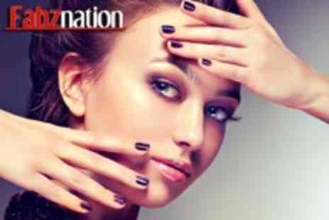 Fabznation - Full body Fake Bake spray tan or a Shellac manicure - Save 64%