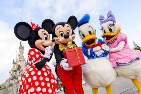 Super Escapes Travel - Four Star Two Nights Disneyland Paris, France holiday with return flights - Save 39%
