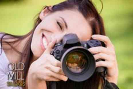 Old Mill Studio - 5 Hour Beginners Digital Photography Course - Save 84%