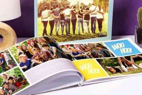 Colorland - Up to Five Personalised Hardcover A4 Photobooks with Up to 60 Pages - Save 72%