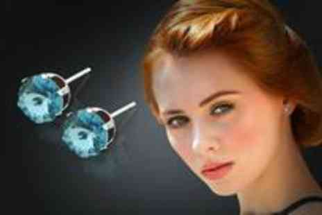 Jewellery Hall - Grade A Swarovski Crystal stud earrings from Jewellery Hall  - Save 67%
