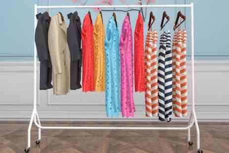 Groupon Good - 3ft, 4ft, 5ft or 6ft Vinsani Heavy Duty Clothes Rail - Save 15%
