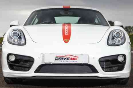 Drive Me - Porsche Cayman S Three to Six Lap Driving Experience - Save 51%