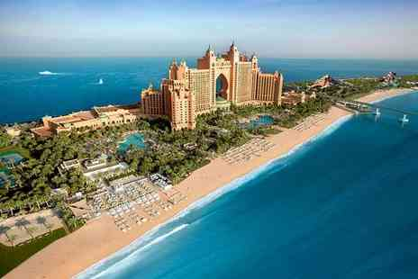 Atlantis The Palm Dubai - Five Star Luxury Iconic Hotel with Waterpark & Aquarium - Save 53%