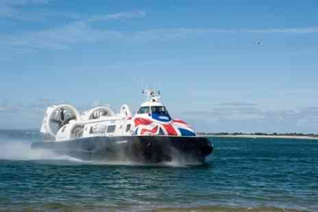 Hovertravel - Hovercraft Flight to the Isle of Wight - Save 0%