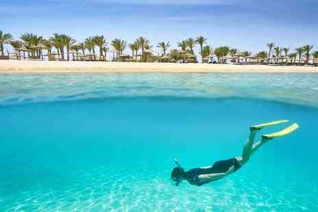 Hurghada Marriott Beach Resort - Five Star Luxury Red Sea Beachfront Retreat with Optional Cruise Extension - Save 13%
