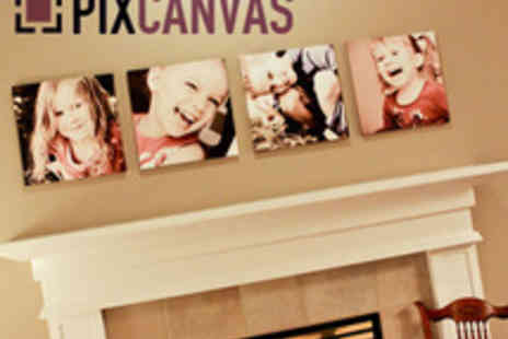 PixCanvas - 1 Free Pop Art Effect Canvas Plus Any Printed Canvas - Save 94%