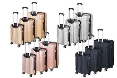 Direct Sourcing Project - Three piece ABS luggage case set - Save 0%