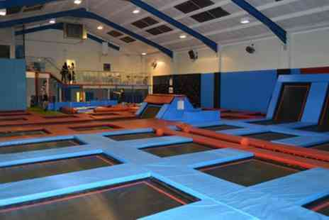Boing Zone Trampoline Park - Trampoline Park Party with Food for 10 Kids - Save 53%